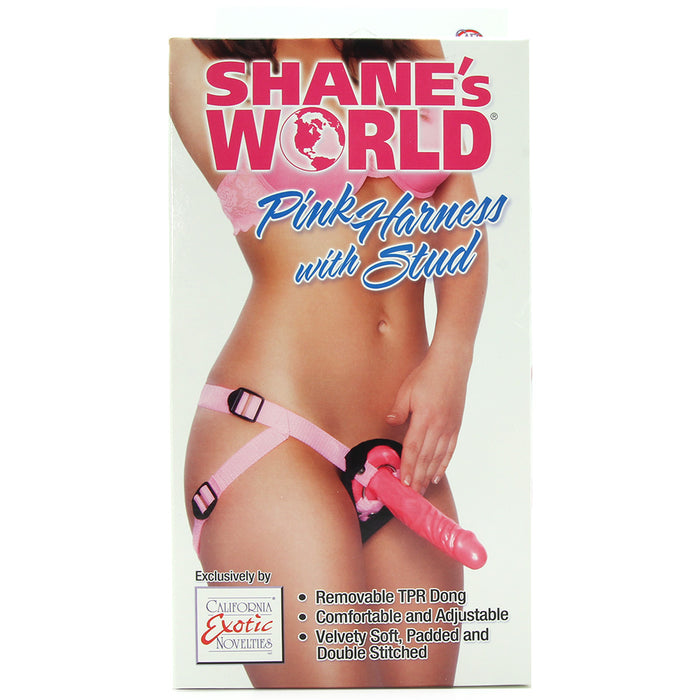 Shane's World Pink Harness with Stud
