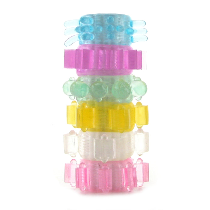 Tower of Power Stretchy Cock Rings