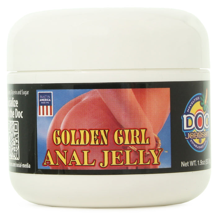 Golden Girl Anal Jelly Lubricant in 2oz/57g
