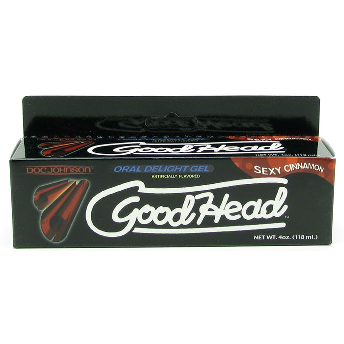GoodHead Oral Delight Gel 4oz/113g in Cinnamon