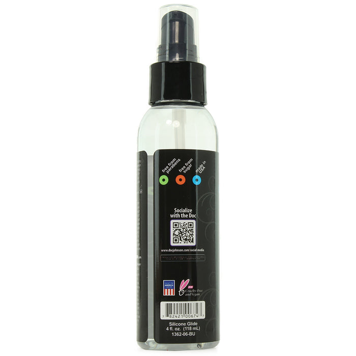 Mood Lube 100% Silicone in 4oz/113g