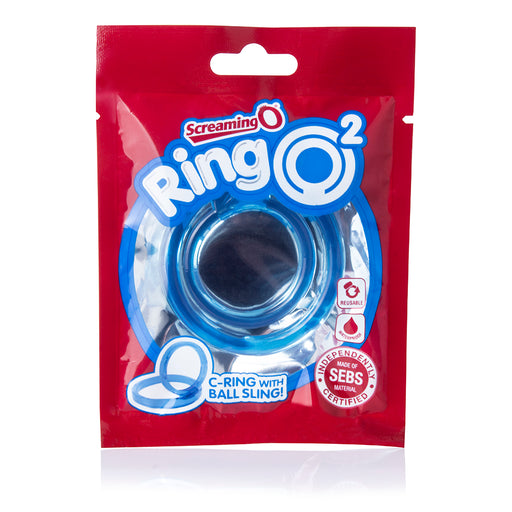 RingO2 C-Ring with Ball Sling in Blue