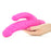 Bendie Power Stud Over & Under Vibrator in Pink