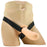 PPA Hollow Silicone Strap-On with Jock Strap in Ivory