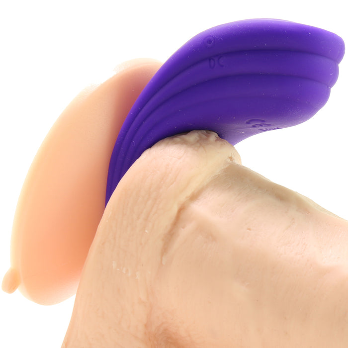Silicone Rechargeable Passion Enhancer in Purple