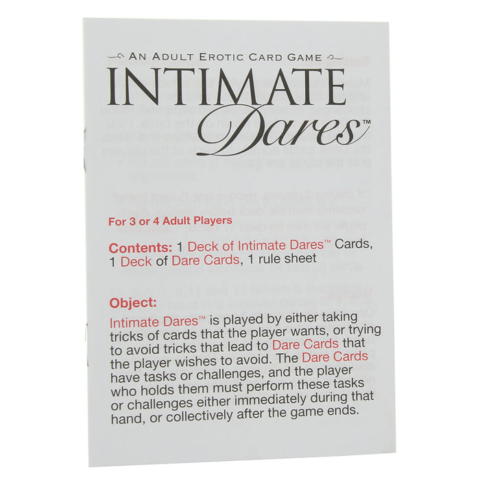 Intimate Dares Adult Erotic Game