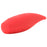 Red Hot Flare Rechargeable Silicone Vibrator