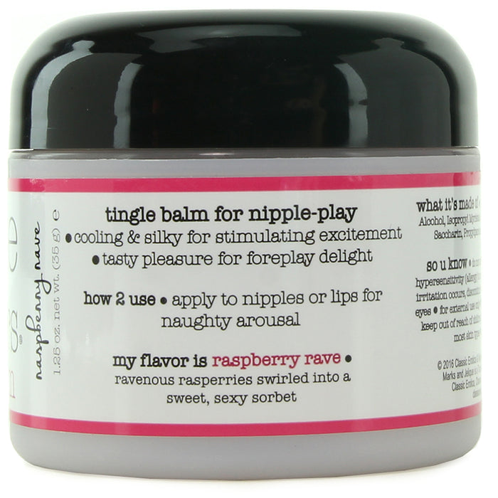 Nipple Nibblers Tingle Balm 1.25oz/35g in Raspberry Rave