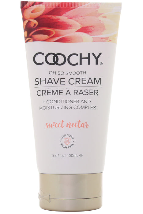 Sweet Nectar Oh So Smooth Shave Cream in 3.4oz/100ml