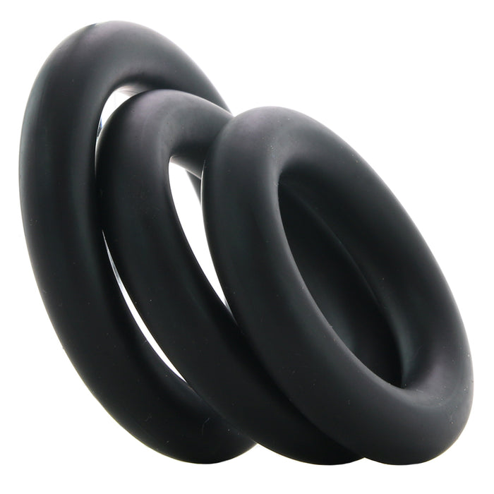 Optimale Thick 3 C-Ring Set in Black