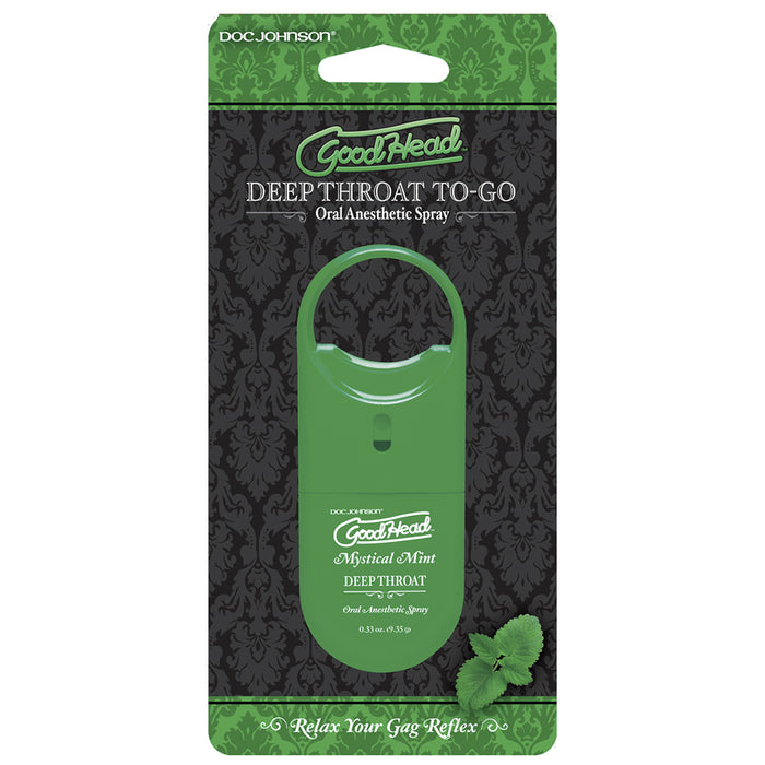GoodHead To-Go Deep Throat Spray in Mystical Mint