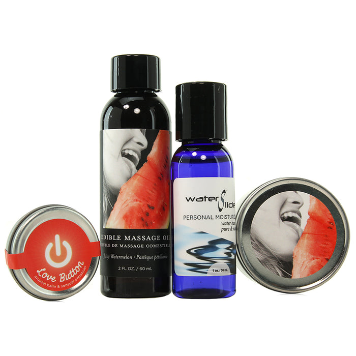 Hemp Seed Tasty Travel Set in Watermelon