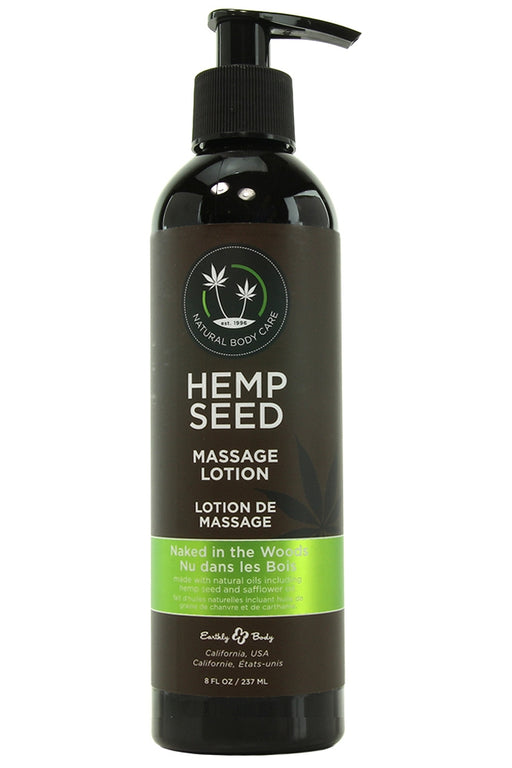 Naked in the Woods Massage Lotion in 8oz/237mL