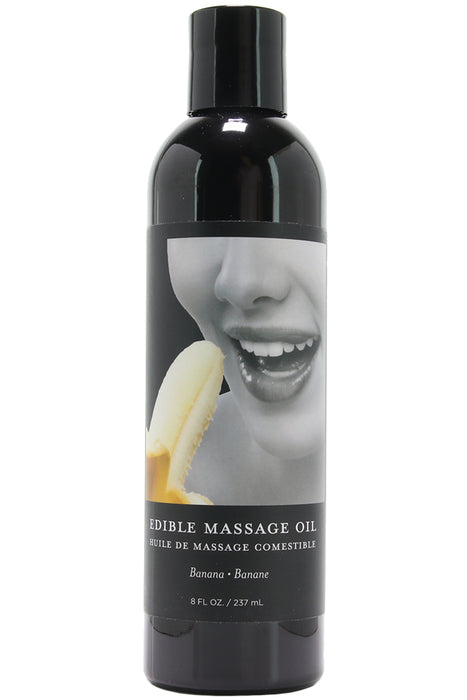 Edible Massage Oil 8oz/237ml in Banana