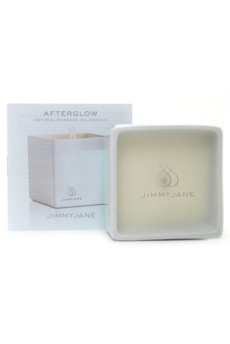 Afterglow Natural Massage Oil Candle in Cucumber Water