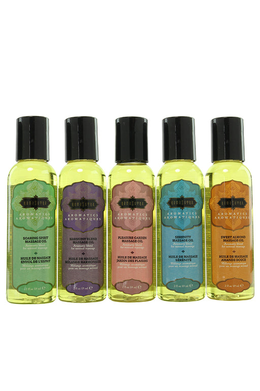 Tranquility Massage Oil Kit