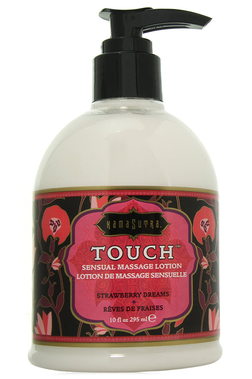 Touch Massage Lotion 10oz/295ml in Strawberry Dreams