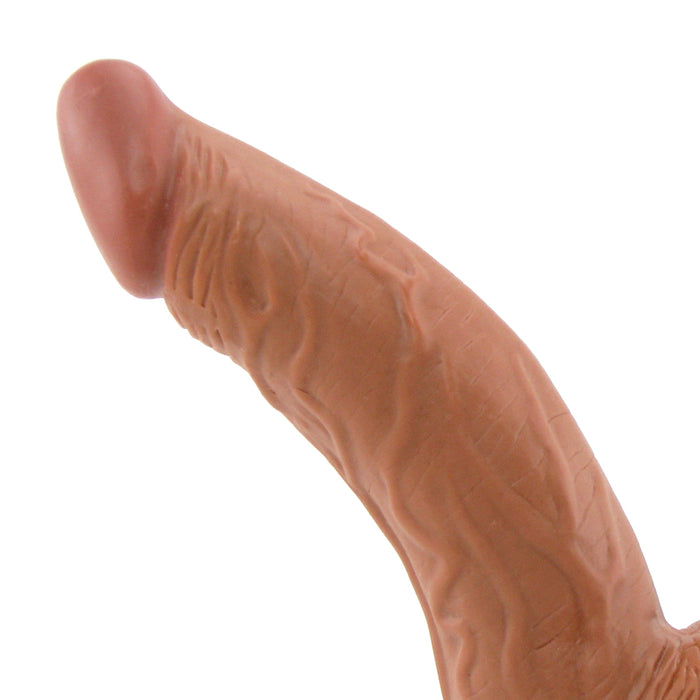 Latin American Mini Whoppers 5 Inch Curved Dildo