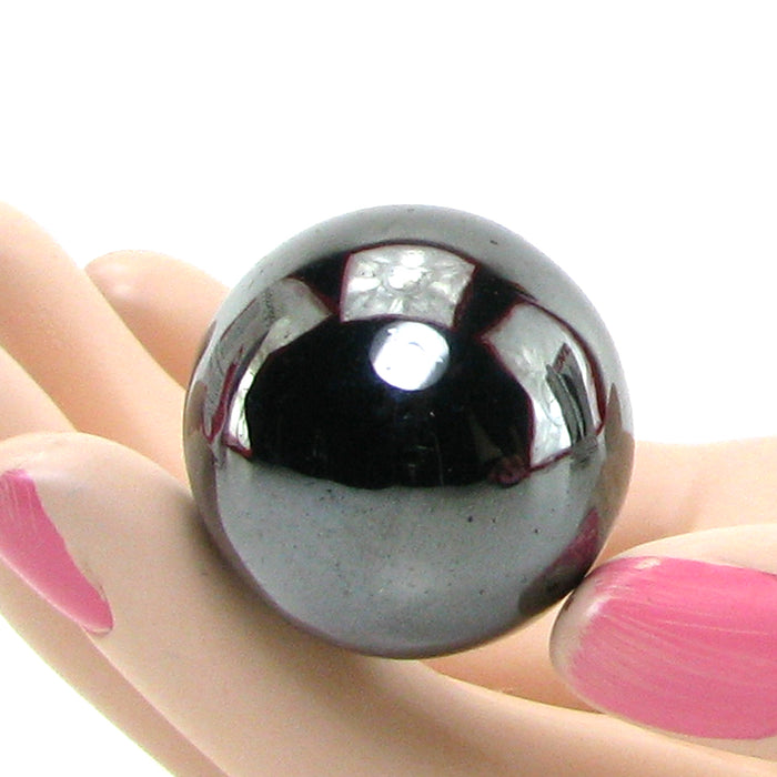 Nen-Wa Magnetic Hematite Balls in Black