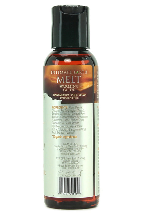 Melt Natural Warming Glide in 2oz/60ml