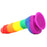 Colours Pride Edition 6 Inch Silicone Dildo in Rainbow