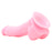 Firefly 5 Inch Pleasures Firm Silicone Dildo in Pink
