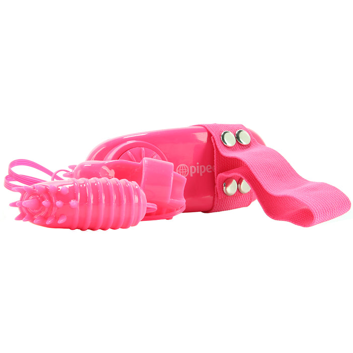 Magic Touch Finger Fun Double Finger Vibrator in Pink