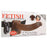 "Fetish Fantasy Vibrating 9"" Hollow Strap-On in Brown"