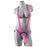 Dillio 7 Inch Strap-On Suspender Harness Set in Pink