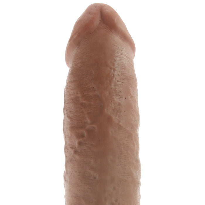 "King Cock 10"" Cock with Balls in Tan"