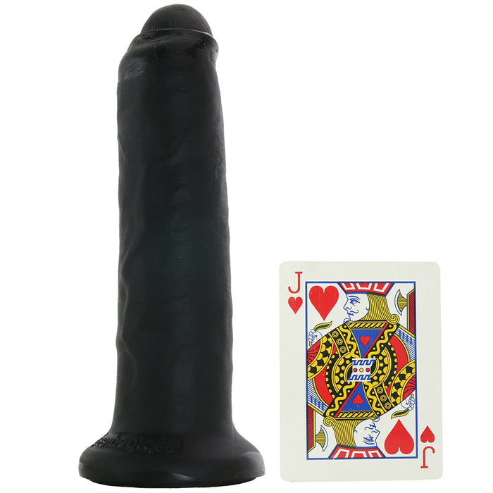 "King Cock 7"" Slide-Skin Uncut Cock in Black"