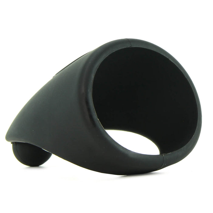 SlingO Silicone Cock Ring in Black