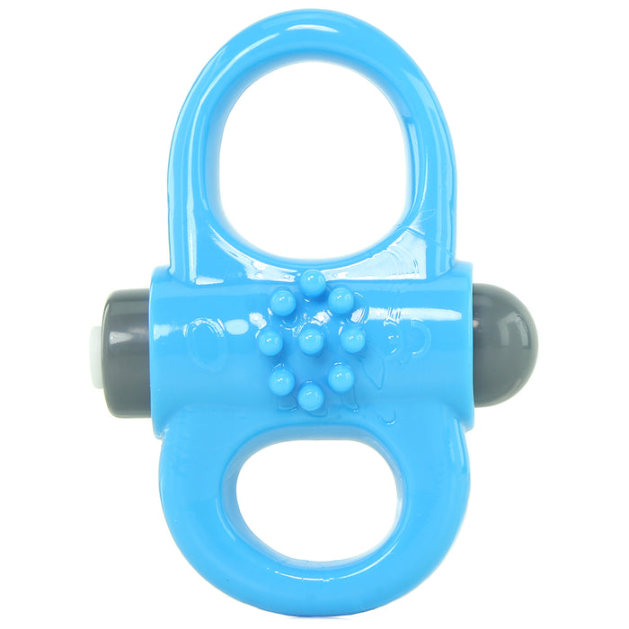 Charged Yoga Reversible 10X Ring Vibrator in Blue