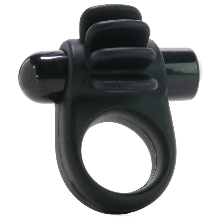 Charged Skooch Vibrating Ring in Black