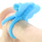 Charged Monarch 10X Silicone Butterfly Vibrator Ring in Blue