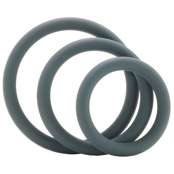 Snug Fit Thin Silicone C-Rings in 3 Pack