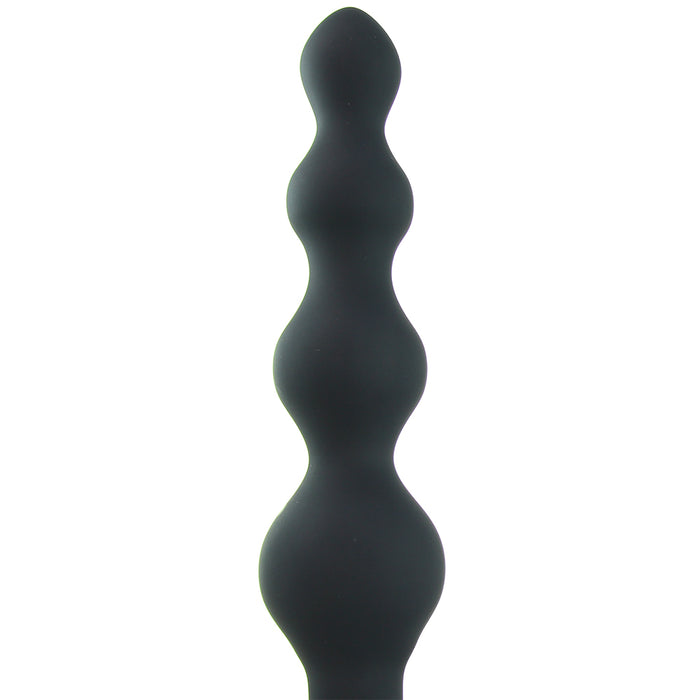Earth Quaker Rechargeable Anal Vibrator in Black
