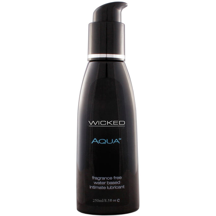 Fragrance Free Water Based Lube in 8.5oz/250ml