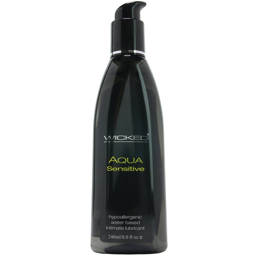 Aqua Sensitive Hypoallergenic Intimate Lube in 8oz/240ml