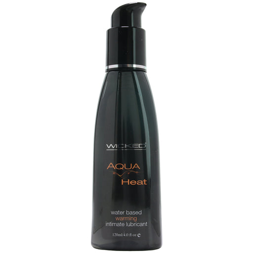 Aqua Heat Water Based Warming Lubricant in 4oz/120ml