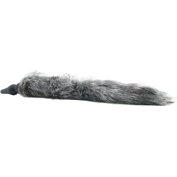 Tailz Grey Wolf Tail Anal Plug & Ears Set