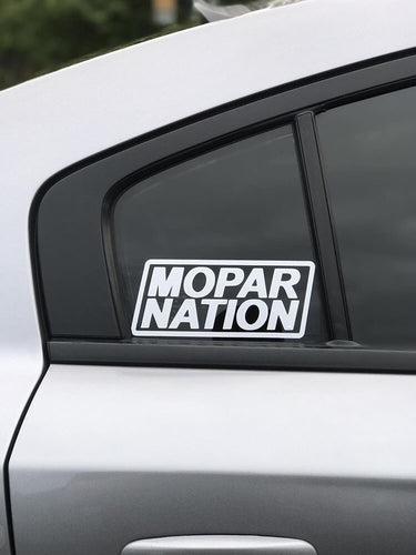 Mopar Nation Sticker 3x7