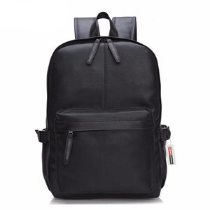 Casual Patent Leather Men's Backpack