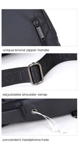 Casual Daily Traveling Shoulder Small Crossbody Bag for Men