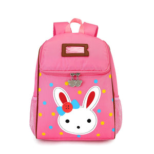 Lovely Rabbit Cartoon Children Backpacks Little Kids Kindergarten Bag Preschool