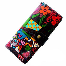 Cartoon Colorful 15+ Artistic Street Art Style Print Wallet