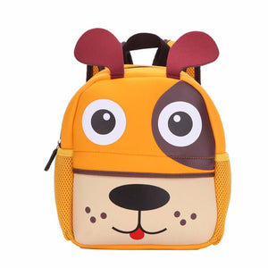 3D Cute Animal Design Backpack Bags Cartoon Dog Monkey Shaped and More