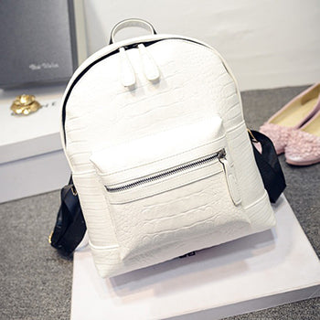 Fashion Women PU Synth Leather Backpack