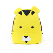 Tiger Waterproof Girls Boys Animals Backpack Neoprene Kids Yellow Bear