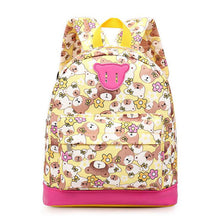 Kids Oxford Cartoon Cute Bear Backpack